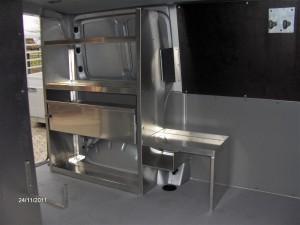 Innenausbau Bus 001